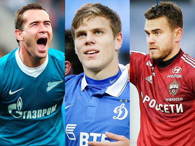 Акинфеев и Кокорин – самые сексуальные игроки РФПЛ