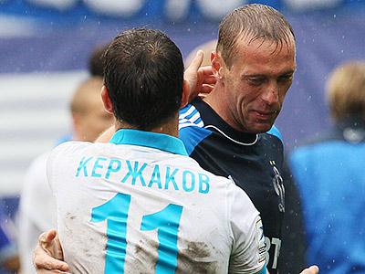 Александр Кержаков и Роман Березовский