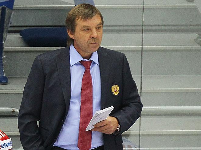 Главный тренер сборной России Олег Знарок