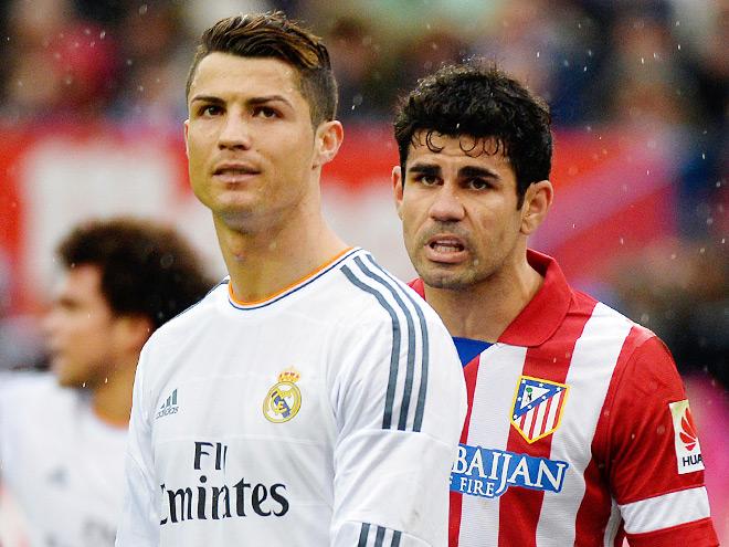Роналду и Диего Коста