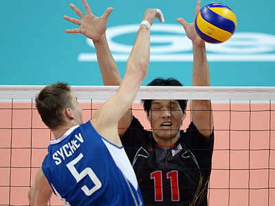 Россия — Япония — 3:1 (25:15, 25:10, 22:25, 25:22)