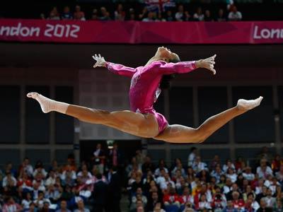 Лондон-2012. Гимнастика. Габриэль Дуглас