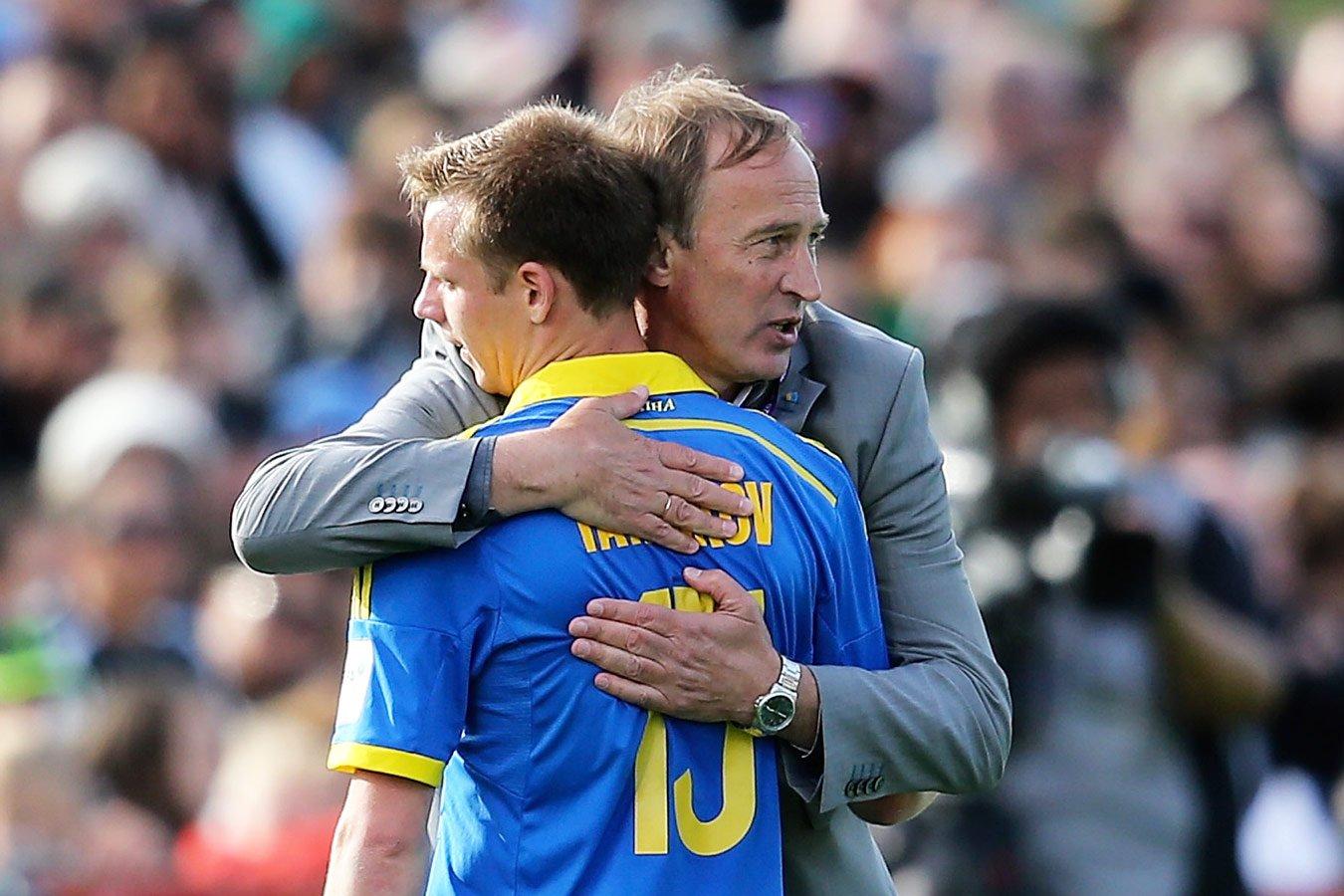 Тренер сборной Украины: сейчас футболистов из России в команде априори быть не может
