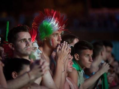 В финале Евро-2012 Италия победила по ТВ-болению