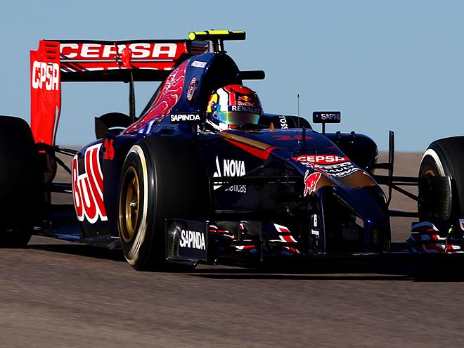 Даниил Квят на Гран-при США Формулы-1
