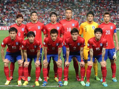 Южная Корея перед матчем с Ираном