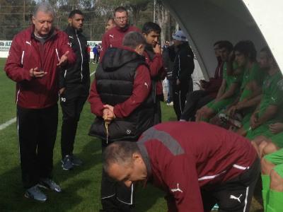 Ринат Билялетдинов во время матча