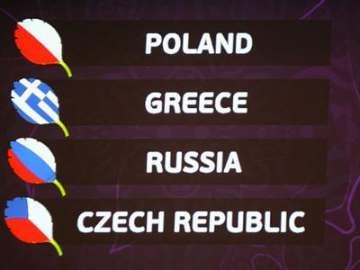 Соперники сборной России