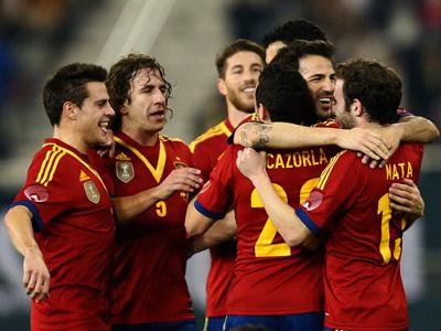Испанцы продолжают собирать скальпы