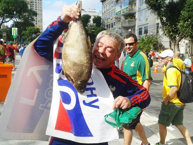 Репортаж из фан-зоны Рио-де-Жанейро