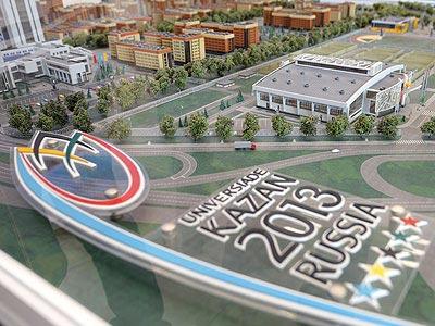 Семь главных объектов Универсиады в Казани