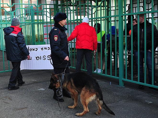 Матч  Россия – Португалия после парижской трагедии