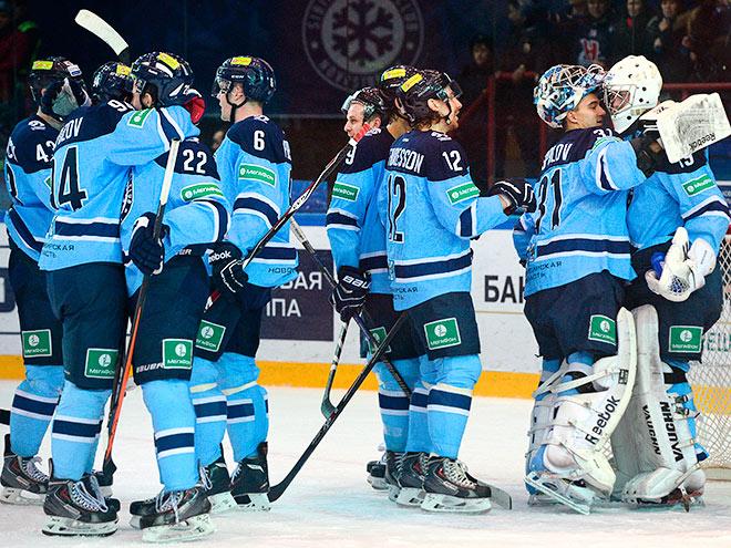 Игроки ХК «Сибирь»