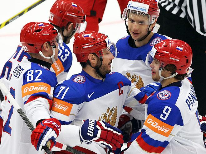 Как играли игроки сборной России?