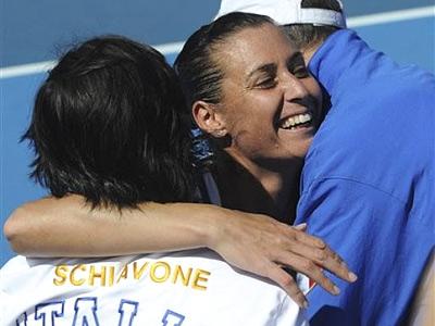 Итальянки продолжили победную серию