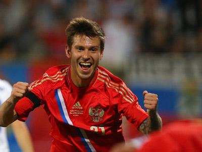 Фёдор Смолов забил первый гол за сборную
