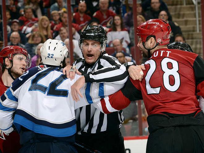 Тафгай Джон Скотт едет на Матч звёзд НХЛ