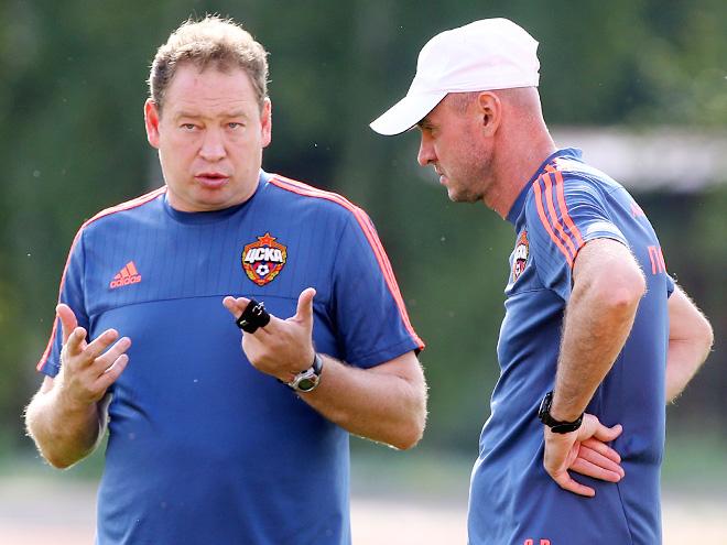 Леонид Слуцкий и Виктор Онопко