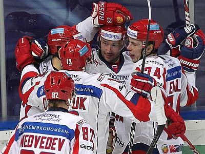 Россия обыграла финнов и выиграла КПК