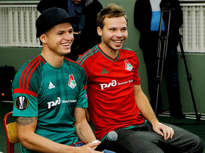 Дмитрий Тарасов и Роман Шишкин