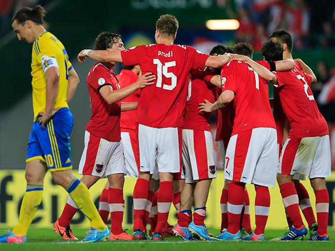 Истории футболистов сборной Австрии