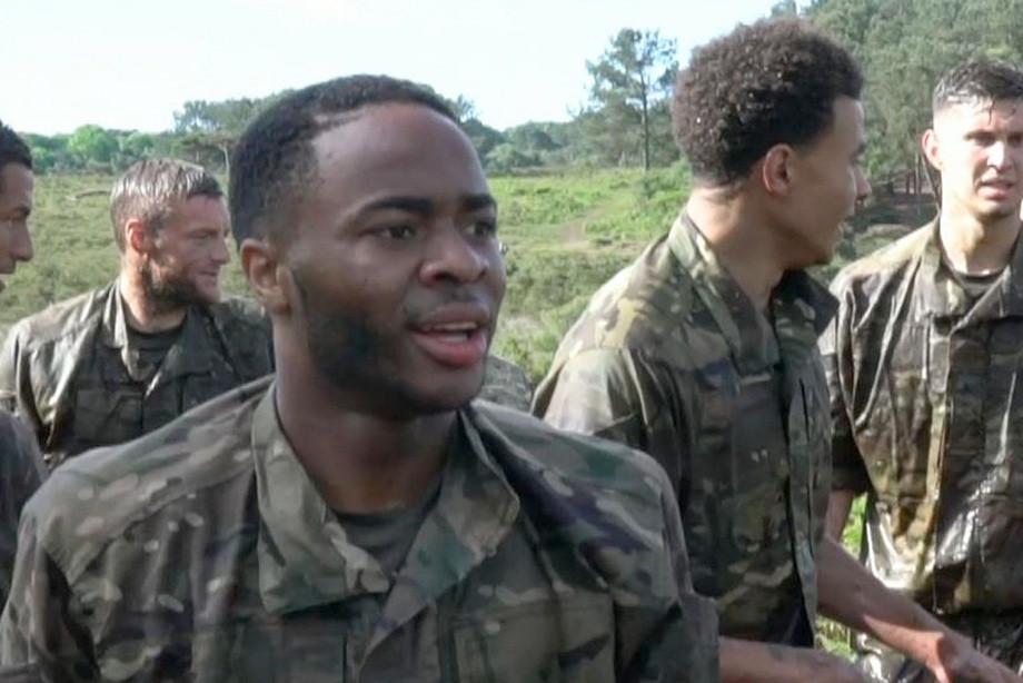 К ЧМ-2018 сборную Англии готовили в армии