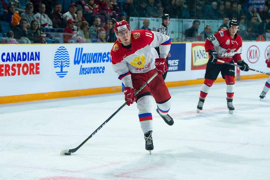 Сборная WHL – молодёжная сборная России – 1:3