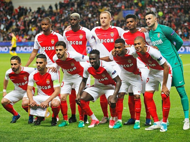 «Монако» вышел в полуфинал Лиги чемпионов