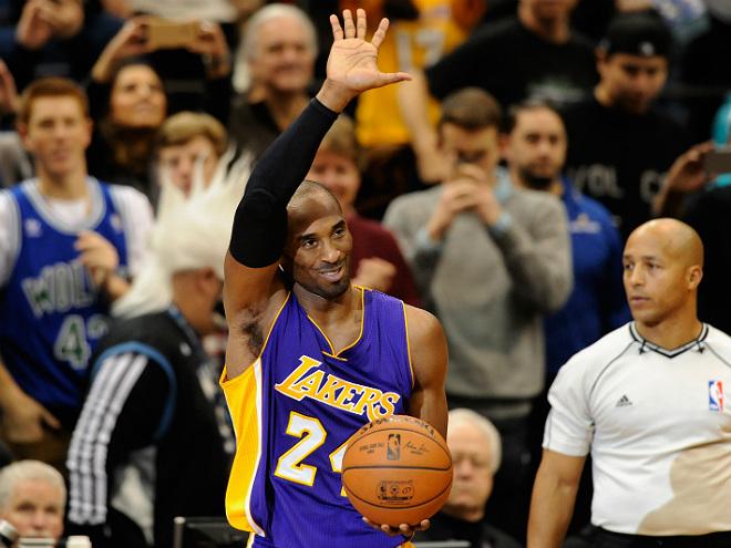 Брайант стал третьим снайпером в истории НБА