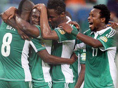 Сборная Нигерии – чемпион Африки