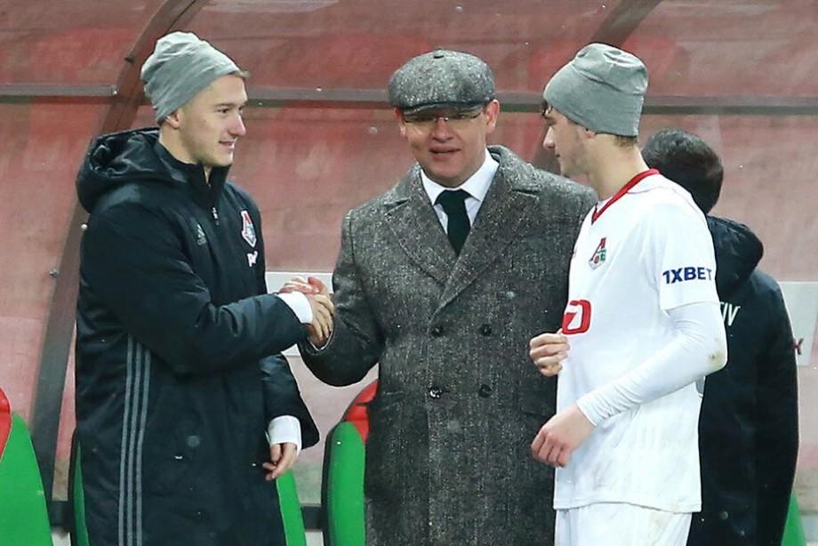 Илья Геркус с братьями Миранчуками