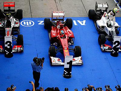 Статистика Гран-при Малайзии: итоги второго этапа сезона-2012