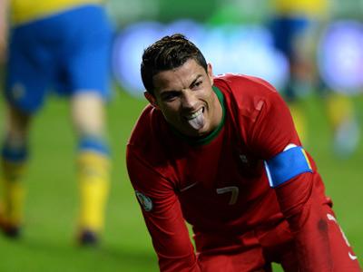 Криштиану Роналду принёс победу Португалии