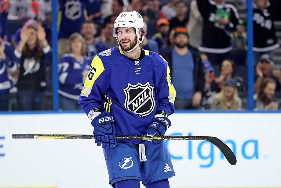 ВМатче звезд НХЛ одолела команда Тихоокеанского дивизиона