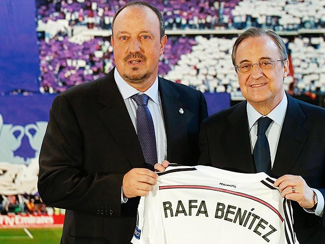 Рафаэль Бенитес начинает работу с «Реалом» в непростых условиях