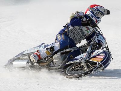 Чемпионат России по мотогонкам на льду. Финал