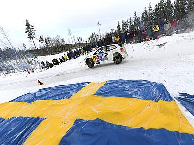 Ожье – лидер Ралли Швеции на СУ16, Новиков – пятый