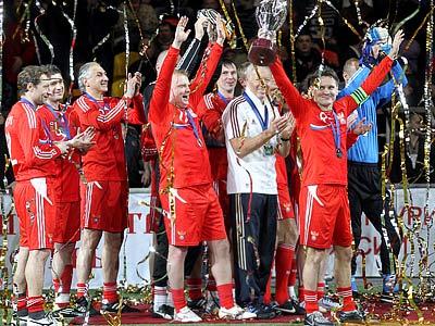 Сборная России в четвёртый раз стала обладателем Кубка легенд