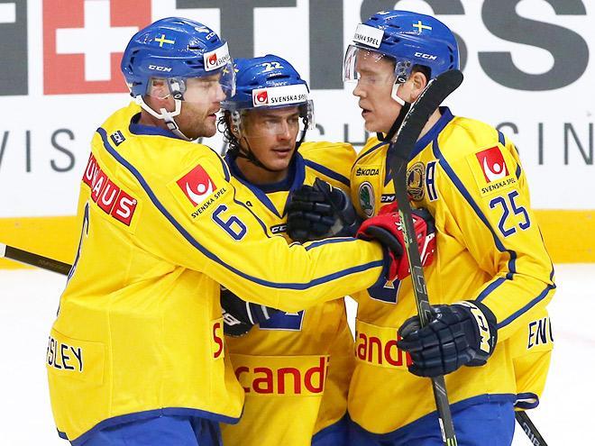 Швеция – Россия – 4:1