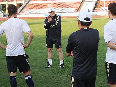 Тренировочное занятие сборной России-2