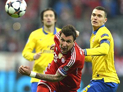 «Бавария» прошла «Арсенал» после ничьей в Мюнхене