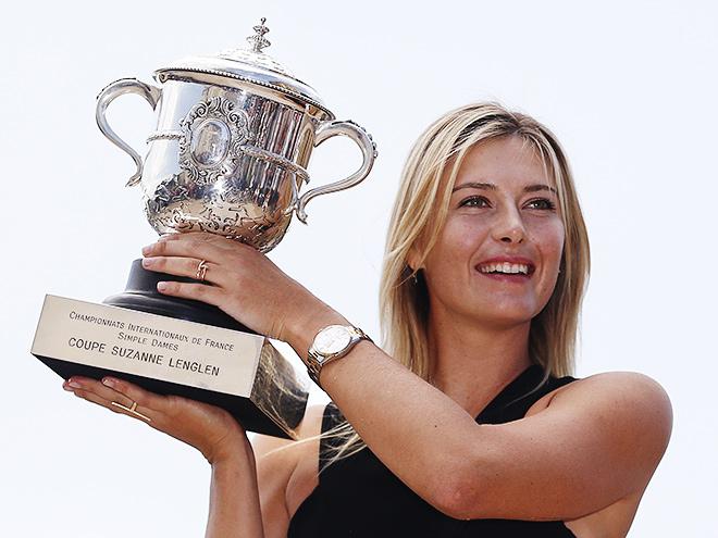 Мария Шарапова выиграла «Ролан Гаррос»