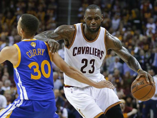 «Голден Стэйт» победил «Кливленд» в матче № 4 финала НБА - 2016