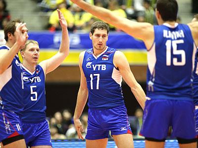 Волейбол. Большой кубок. Россия – Бразилия – 3:2
