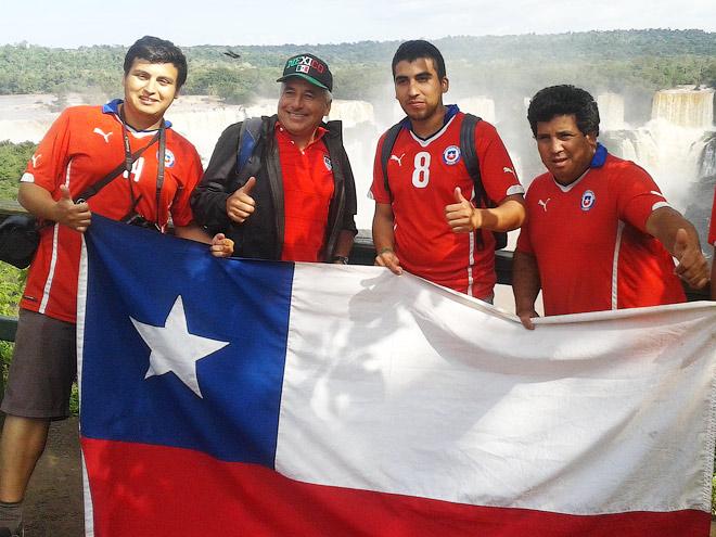Репортаж с водопадов Игуасу – теперь и футбольных