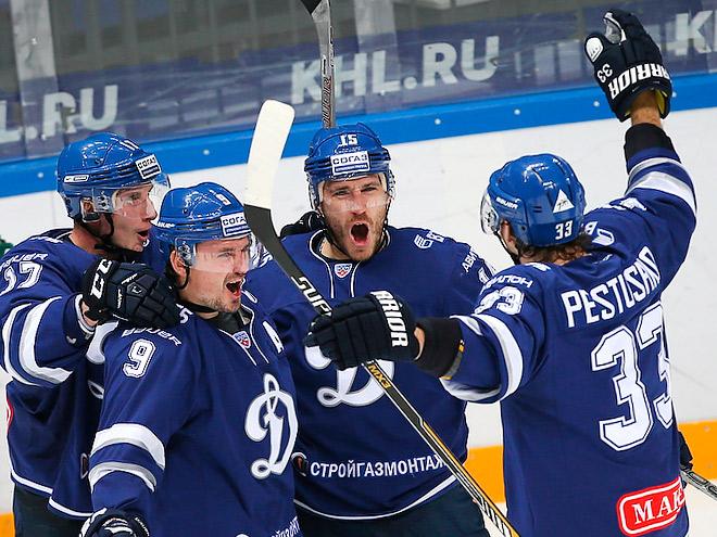 «Динамо» вырвало победу у «Магнитки» - 2:1
