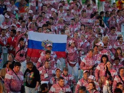 Паралимпийцы вернулись домой