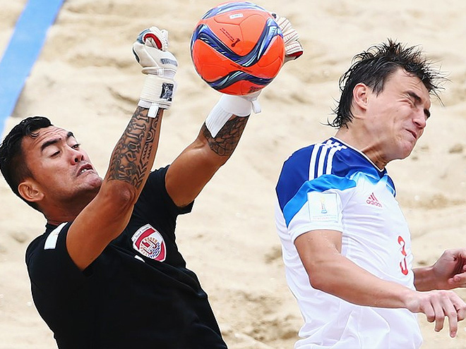 Россия проиграла Таити на чемпионате мира