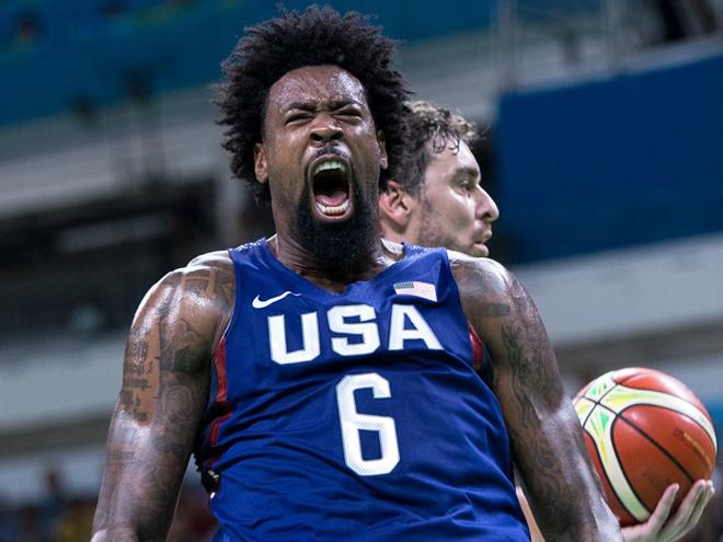 22 очка Томпсона помогли США победить Испанию в полуфинале Олимпийских игр