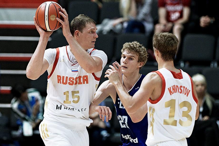 Тимофей Мозгов, сборная России